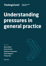 Understanding pressures in general practice - report cover