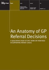 An anatomy of GP referral decisions publication cover