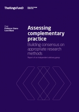 Assessing complementary practice publication cover