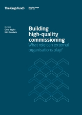Building high-quality commissioning publication report