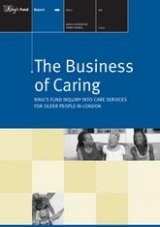 The business of caring publication cover