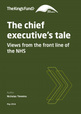 The chief executive's tale