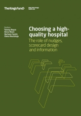 Choosing a high-quality hospital publication cover