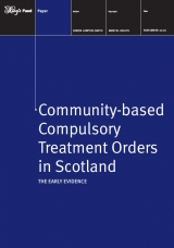 Community-based compulsory treatment orders in Scotland publication cover