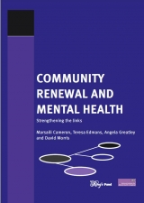 Community renewal and mental health publication cover