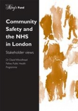 Community safety and the NHS in London publication cover