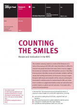 Counting the smiles publication cover