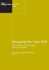 Designing the 'new' NHS publication cover