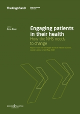 Engaging patients in their health publication cover