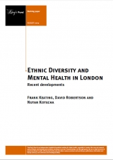 Ethnic diversity and mental health in London publication cover