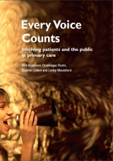 Every voice counts publication cover