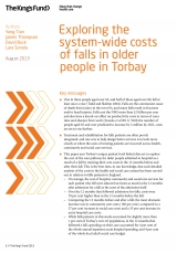 Exploring system-wide-costs of falls in older people in Torbay front cover