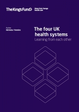 The four UK health systems front cover
