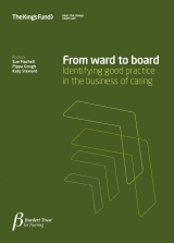 From ward to board publication cover