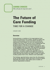 The future of care funding publication paper