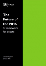 The future of the NHS: A framework for debate publication cover