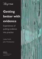 Getting better with evidence publication cover