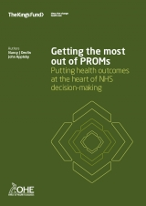 Getting the most out of PROMS publication cover