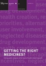 Getting the right medicines? publication cover