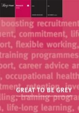 Great to be grey publication cover