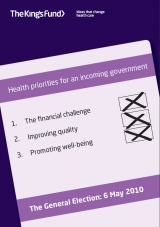 Health priorities for an incoming government front cover