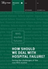 How should we deal with hospital failure? publication cover