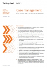 Implementing case management publication cover