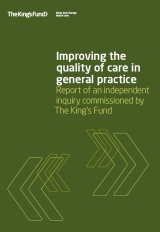 Improving the quality of care in general practice publication cover