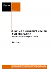Linking children's health and education publication cover
