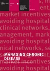 Managing chronic disease publication cover