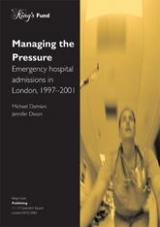 Managing the pressure publication cover