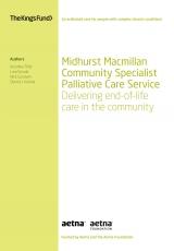 Midhurst Macmillan Community Specialist Palliative Care Service front cover