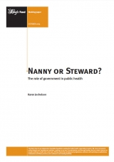 Nanny or steward? The role of governmnet in public health publication cover