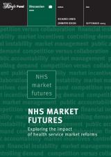 NHS Market Futures: Exploring the impact publication cover
