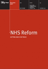 NHs Reform: Getting back on track publication cover