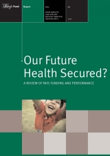 Our future health secured publication cover
