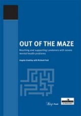Out of the maze: mental health in London publication cover