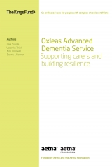 Oxleas Advanced Dementia Service front cover