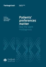 Front cover of Patients' preferences matter