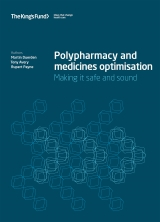 Polypharmacy and medicines optimisation front cover