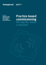 Practice-based commissioning: Reinvigroate, replace or abandon? publication cover