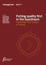 Putting quality first in the boardroom publication title