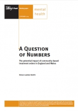 A question of numbers: The potential impact of community-based treatment orders in England and Wales