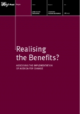 Realising the benefits? Addressing the implementaiton of agenda for change publication cover