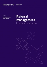 Referral management: Lessons for success publication cover