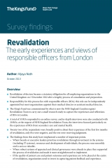 Revalidation report front cover
