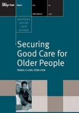 Securing good care for older people publication front cover