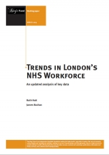 Trends in London's NHS workforce publication cover