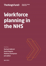 Workforce planning in the NHS
