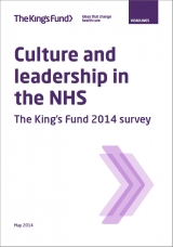 Leadership and culture in the NHS